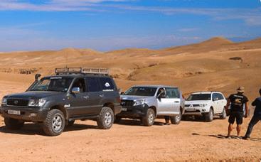 road trip 4x4 maroc